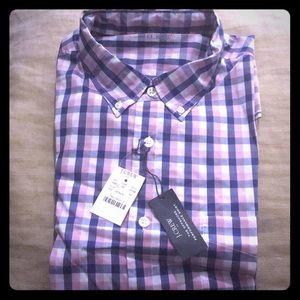 J crew factory slim fit plaid shirt